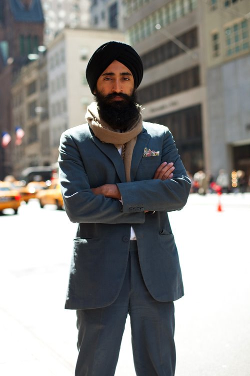 Waris Ahluwalia on The Sartorialist