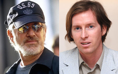 Steven Speilberg and Wes Anderson