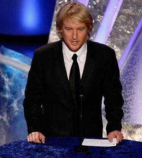 Owen Wilson at Oscars 2008