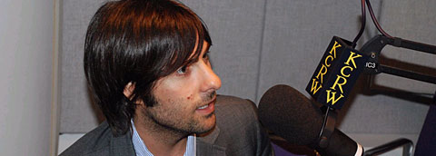 Jason Schwartzman at KCRW