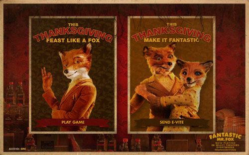 Fantastic Mr. Fox Thanksgiving