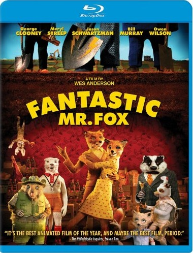 Fantastic Mr. Fox U.S. Blu-Ray