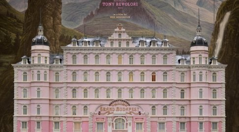 Grand Budapest Movie Poster