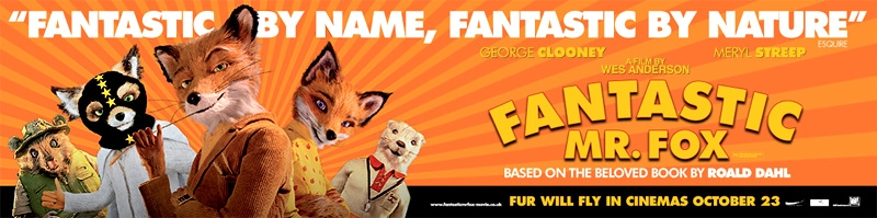 New Fantastic Mr Fox Banner And Poster The Rushmore Academy