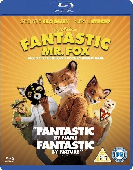 Fantastic Mr. Fox U.K. Blu-Ray