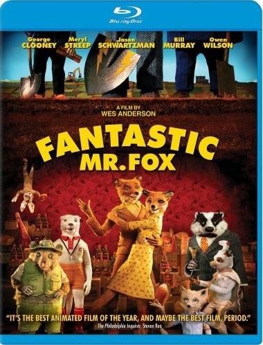 Fantastic Mr. Fox U.S. Blu-Ray