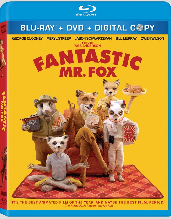 Fantastic Mr. Fox Blu-Ray