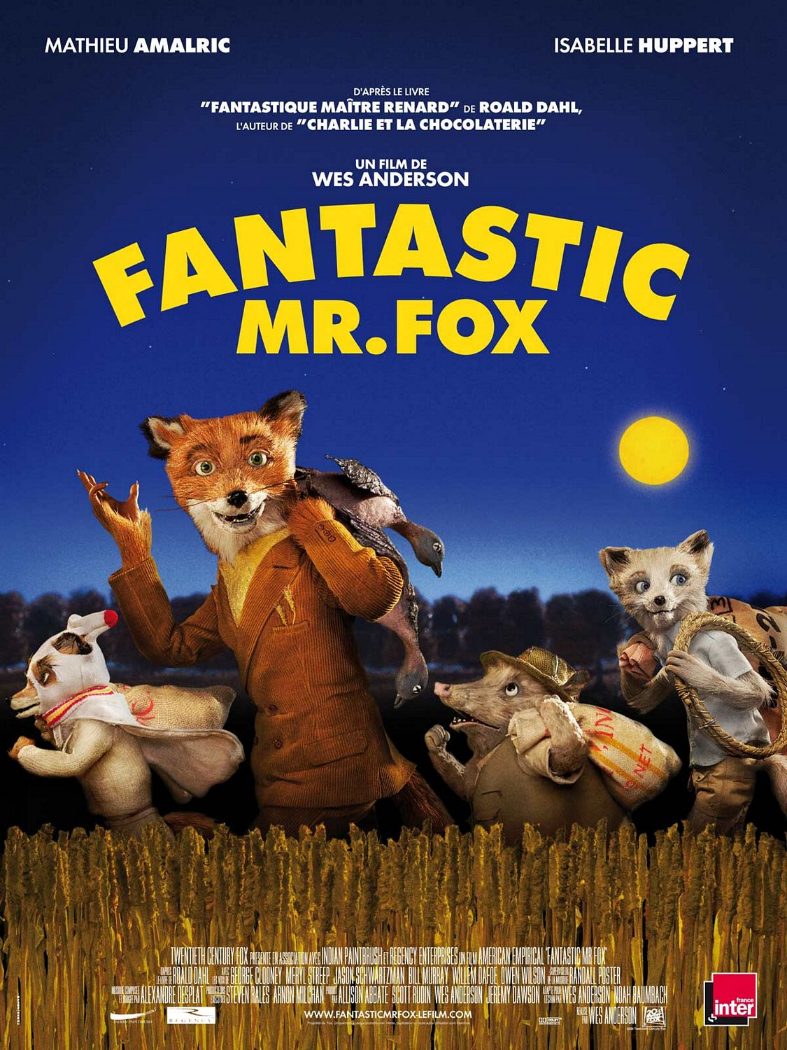 Fantastic Mr. Fox French Poster